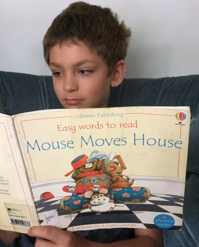 Ian's family is moving this spring, mimicking Mouse Mack.