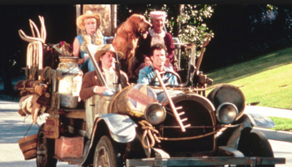 Beverly Hillbillies Moving Van, courtesy Google Images