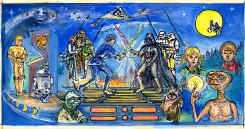 Star Wars Color Study, 1984