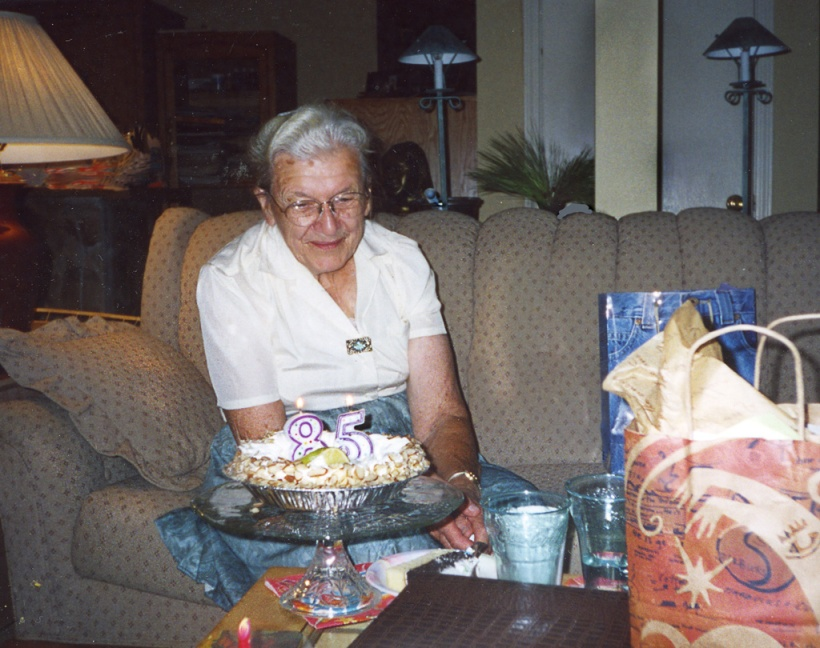 Aunt Ruthie Longenecker's 85th Birthday, 2003