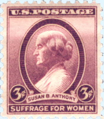 Courtesy of National Women's History Museum stamp exhibit